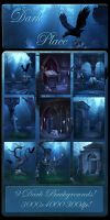 Dark Place backgrounds by moonchild-ljilja