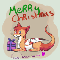 Merry christmas by Bienoo