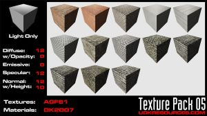 UDK Texture Pack 05 by DK2007