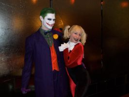 The Joker and Harley Quinn by Aneirin-Aryon