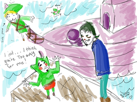 TOO GAY FOR TINGLE by SleepingSuzette