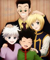 Family Photo - Merry Christmas by LauraPaladiknight