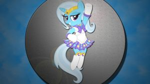 Wallpaper Trixie Lulamoon by Barrfind