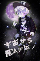 Magical Boy from SPACE by TheCowsMoo