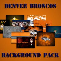 Denver Broncos Background Pack by cotrackguy