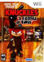 Knuckles in A Fistful of Rings by theEyZmaster