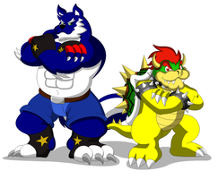 ARMS CROSSED! by koopa-master feat. BOWSER!!! by brawl9977