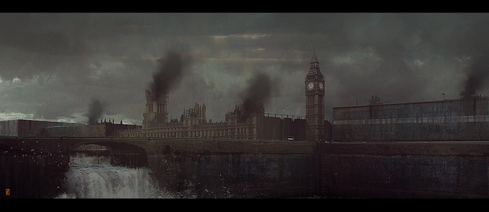 LONDON_BLOCKADE by donmalo