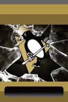 Penguins Broken IPod Wallpaper by BuckHunter7