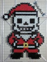 Santa Sans by PerlerPixie