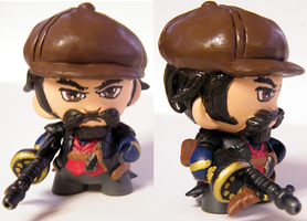 Mafia Graves Micro Munny (commissioned) by tripled153