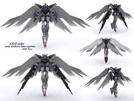 XXXG-00W0 Wing Zero Custom by if-i-nvr-knew