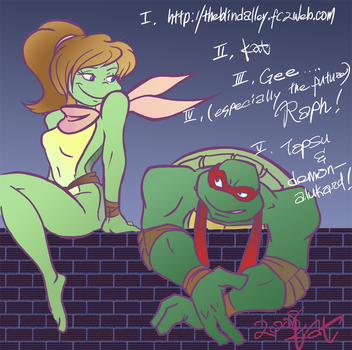 Drawing Meme Raph X Mona Lisa by theblindalley