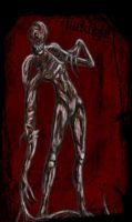'The Deaf' Creature Concept by Schizoepileptic