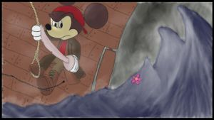 Pirate Mickey by davidbore