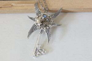 Steampunk Ice prince key by LsUnique