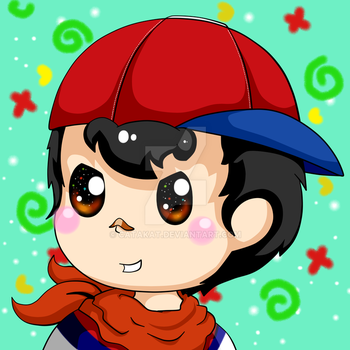 Ninten Icon by Catakat