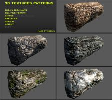 Free 3D textures pack 13 by Nobiax