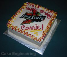 Cyclone Birthday Cake by cake-engineering