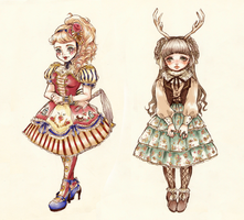 My Lolitas by oOCassieOo