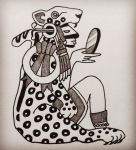 Tattoo design, Tezcatlipoca by admhire