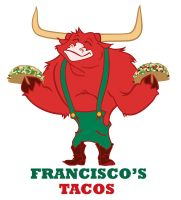 Franciscos Tacos Mascot design by ChristianHolmes