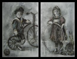 Childhood 100 years ago by Hemhet