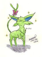 Espeon by char1cific