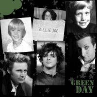 Green Day childhood by darkwaylovesMCR