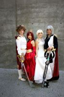 Kingdom Hearts Cosplay   The Royal Court by CosplayInABox