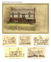 Atlanta Tudor Houses by Built4ever