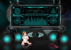 cyber NEWBORN by graphomet