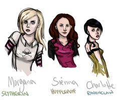 My Hogwarts OCs - except Rose by Until-The-Dark