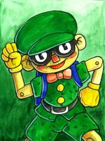 Sketchcard Power Stone Pete by fedde