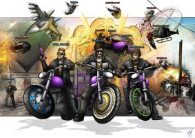 Grand Theft Auto: Online- Crazy Blammers by MatthewHogben