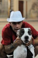 A rude boy and his dog by Pissedoffofwrongnick