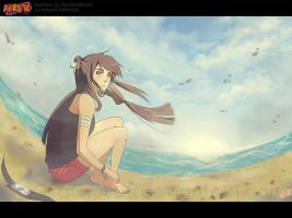 Sachiya in such a deep picture by SkyGiratina00