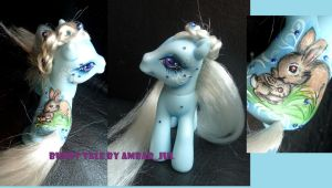 My little pony custom Bunny tale by AmbarJulieta