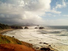 Oregon Coast by wrivenes