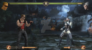 Duke Nukem In Mortal Kombat 9 by GEOcw89