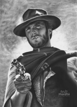 Clint Eastwood by Mahbopoli