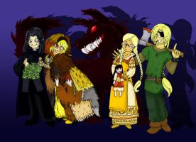08 Hellsing Halloweenies by hermitchild