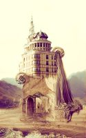 Castle in parallel reality by Ifispirit