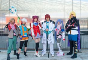 Tales of Graces - Group! by Bexxin