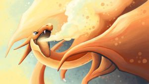 Because Charizard by Noktowl