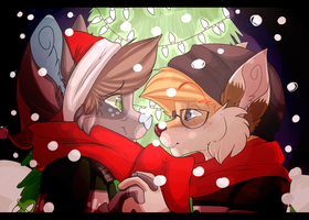 4 Year Anniversary: Eloping on Christmas by skinnedwolf