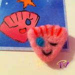Needle Felted Pink Seashell by FaithWalkers