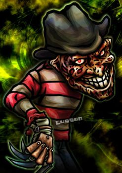 Freddy Krueger by cussoncheung