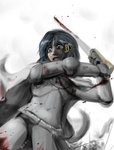 Puella Imperator - Stained Cerulean by Csp499