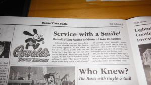 10 years? (Oswald on the Buena Vista Bugle) by S775
